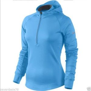 Nike thermal Dri Fit running half zip hoodie Sz. L